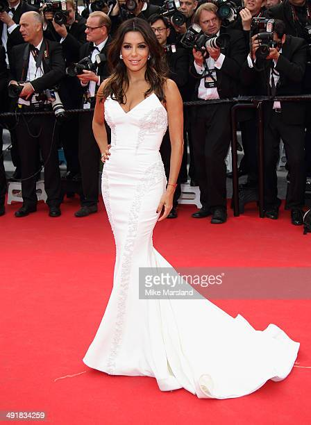 Eva Longoria attends the 'Saint Laurent' Premiere at the 67th Annual Cannes Film Festival on May 17 2014 in Cannes France