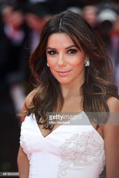 Eva Longoria attends the Saint Laurent Premiere at the 67th Annual Cannes Film Festival on May 17 2014 in Cannes France