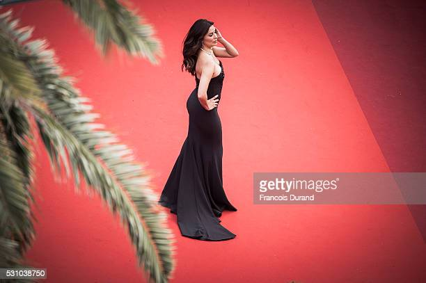Eva Longoria attends the screening of Money Monster at the annual 69th Cannes Film Festival at Palais des Festivals on May 12 2016 in Cannes France