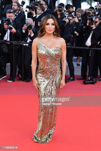 Eva Longoria attends the screening of Rocketman during the 72nd annual Cannes Film Festival on May 16 2019 in Cannes France