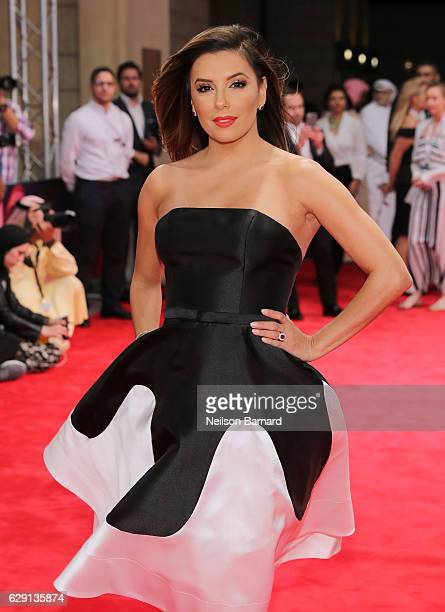 Eva Longoria attends the 'Solitaire' red carpet during day five of the 13th annual Dubai International Film Festival held at the Madinat Jumeriah...