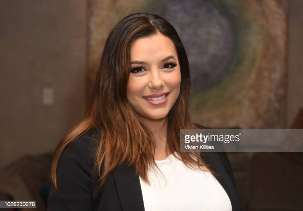 Eva Longoria attends the Telluride Film Festival 2018 on September 1 2018 in Telluride Colorado