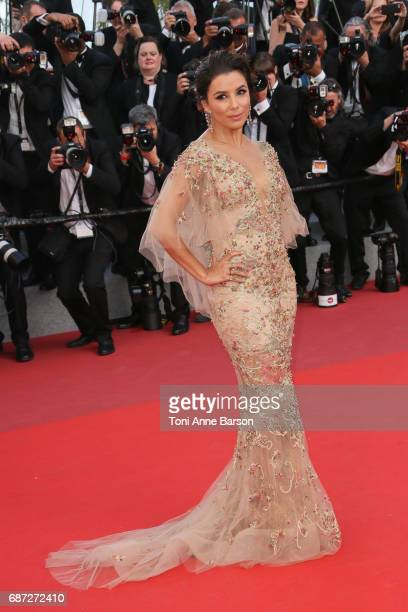 Eva Longoria attends the The Killing Of A Sacred Deer screening during the 70th annual Cannes Film Festival at Palais des Festivals on May 22 2017 in...