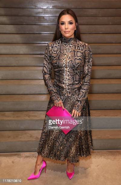 Eva Longoria attends Victoria Beckham and Sotheby's celebration of Andy Warhol with Don Julio 1942 at her Dover Street store on September 30 2019 in...