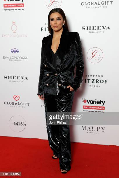 Eva Longoria Baston attends the annual Global Gift Gala London at Kimpton Fitzroy Hotel on October 17 2019 in London England