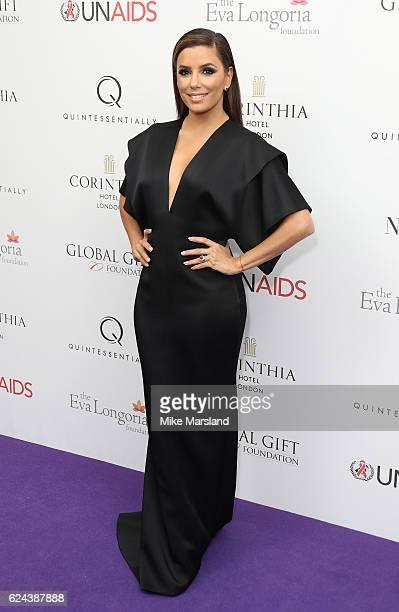 Eva Longoria Baston attends the Global Gift Gala London on November 19 2016 in London United Kingdom