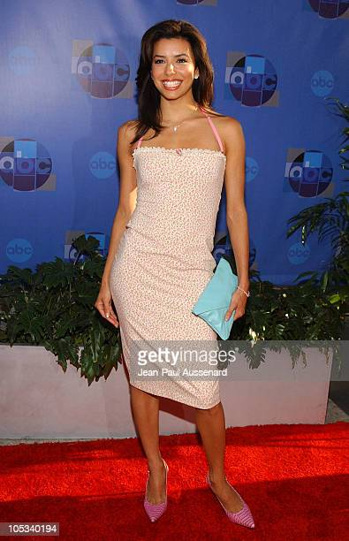 Eva Longoria during 2004 ABC All Star Summer Party at C2 Cafe in Century City California United States