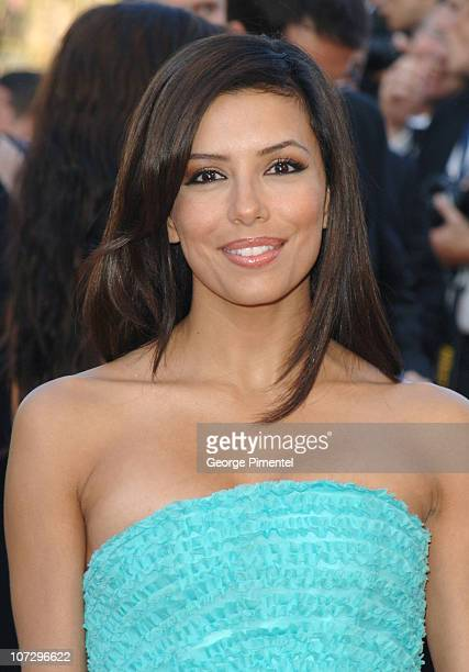 Eva Longoria during 2005 Cannes Film Festival Star Wars Episode III Revenge of the Sith Premiere in Cannes France