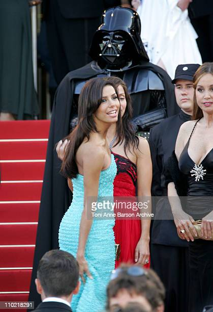 Eva Longoria during 2005 Cannes Film Festival 'Star Wars Episode III Revenge of the Sith' Premiere in Cannes France