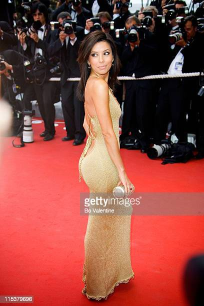 Eva Longoria during 2005 Cannes Film Festival 'Where the Truth Lies' Premiere at Palais des Festival in Cannes France