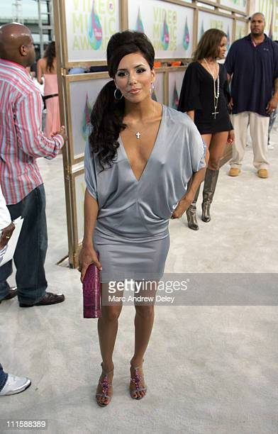 Eva Longoria during 2005 MTV Video Music Awards Arrivals at American Airlines Arena in Miami Florida United States