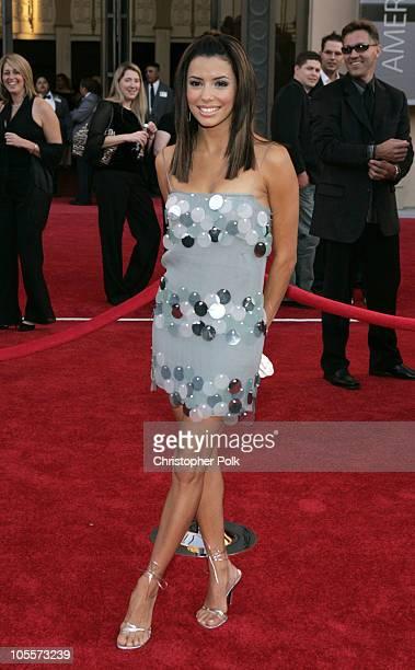 Eva Longoria during 32nd Annual American Music Awards Arrivals at Shrine Auditorium in Los Angeles California United States
