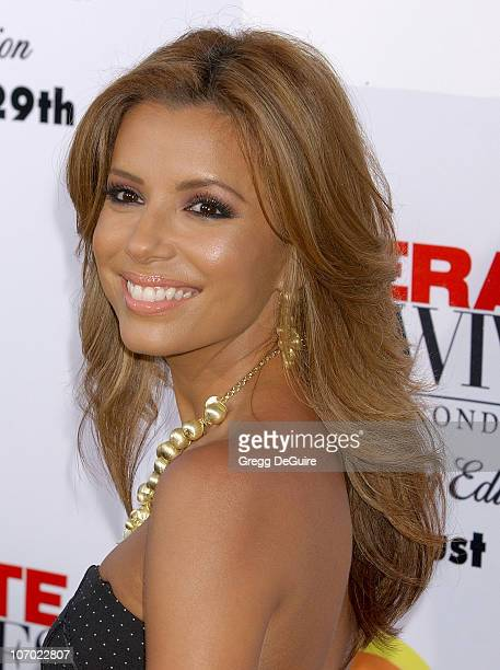 Eva Longoria during Desperate Housewives Season 2 Extra Juicy Edition DVD Launch Event Arrivals at Wisteria Lane Universal Studios in Universal City...