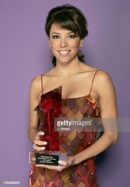 Eva Longoria during Hollywood Life's 4th Annual Breakthrough of the Year Awards Portraits at Henry Fonda Theatre in Hollywood California United States