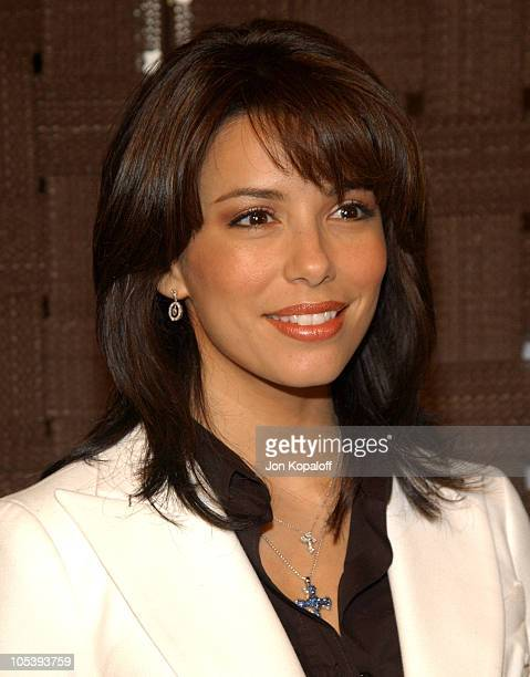 Eva Longoria during In Style Magazine and the DIC Host Luncheon to Celebrate the 2005 Awards Season at Beverly Hills Hotel in Beverly Hills...