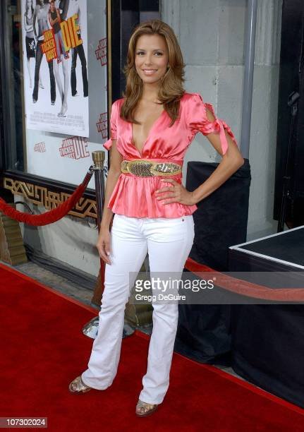 Eva Longoria during John Tucker Must Die Los Angeles Premiere Arrivals at Mann's Chinese Theater in Hollywood California United States