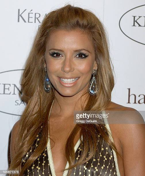 Eva Longoria during Ken Paves Opens His Beverly Hills Salon Hosted By Jessica Simpson and Eva Longoria Arrivals at Ken Paves Salon in Beverly Hills...