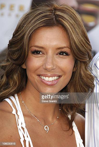 "Eva Longoria during World Premiere of ""Superman Returns"" - Arrivals at Mann's Village and Bruin Theaters in Westwood, California, United States."