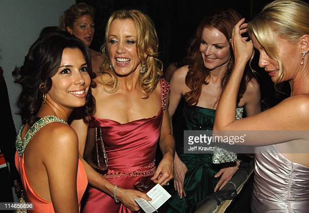 Eva Longoria Felicity Huffman Marcia Cross and Nicollette Sheridan *Exclusive Coverage*