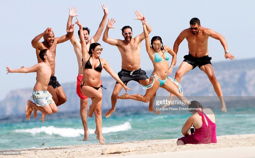 Celebrities Sighting In Formentera - July 20, 2016
