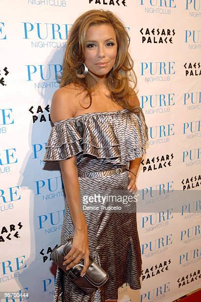 NO TABLOIDS Eva Longoria Hosts an Evening at PURE Nightclub at Caesars Palace Hotel and Casino Resort Red Carpet Arrivals PURE Nightclub at Caesars...