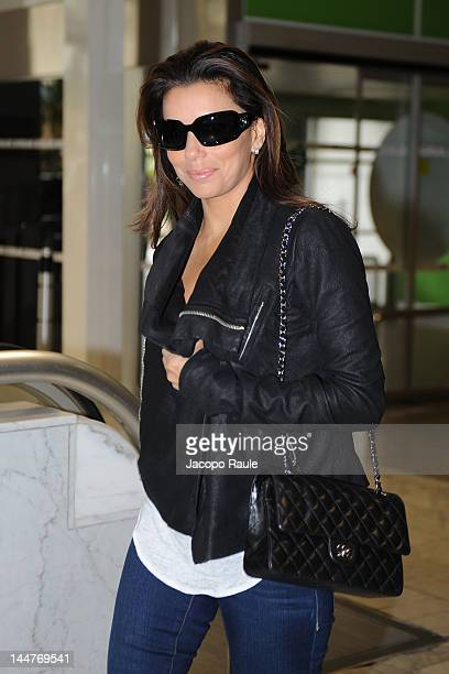Eva Longoria is seen at Nice Airport during 65th Cannes Film Festival on May 19 2012 in Nice France
