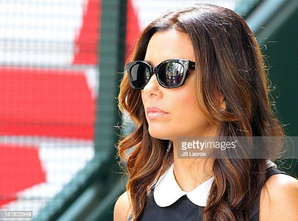 Eva Longoria is seen at The Grove on September 11, 2012 in Los Angeles, California.