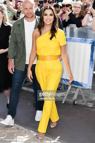 Eva Longoria is seen during the 72nd annual Cannes Film Festival at on May 15 2019 in Cannes France