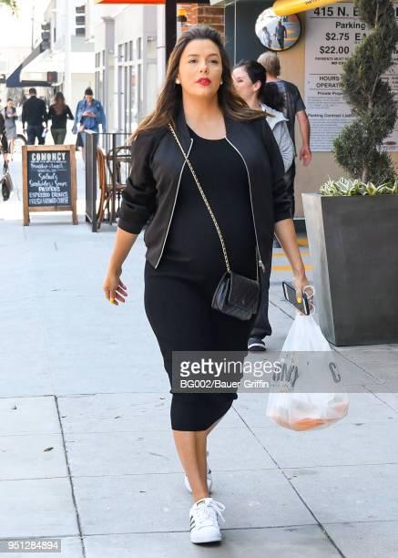Eva Longoria is seen on April 25, 2018 in Los Angeles, California.