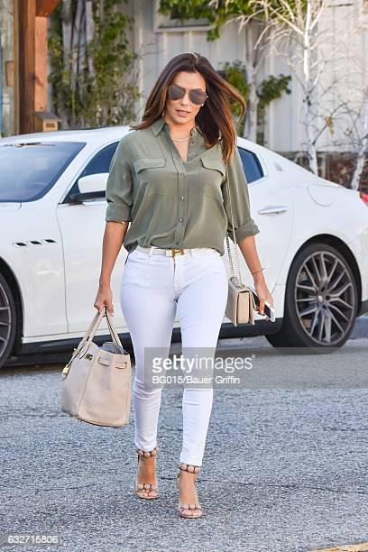Eva Longoria is seen on January 25 2017 in Los Angeles California