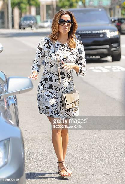 Eva Longoria is seen on July 12 2016 in Los Angeles California