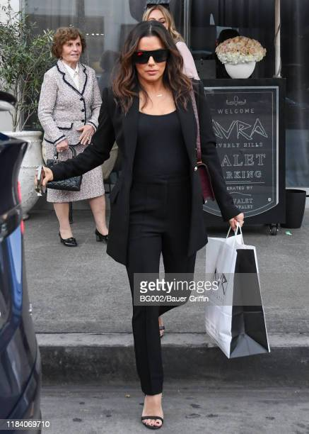 Eva Longoria is seen on November 22 2019 in Los Angeles California