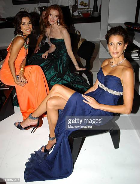 Eva Longoria Marcia Cross and Teri Hatcher *Exclusive Coverage*