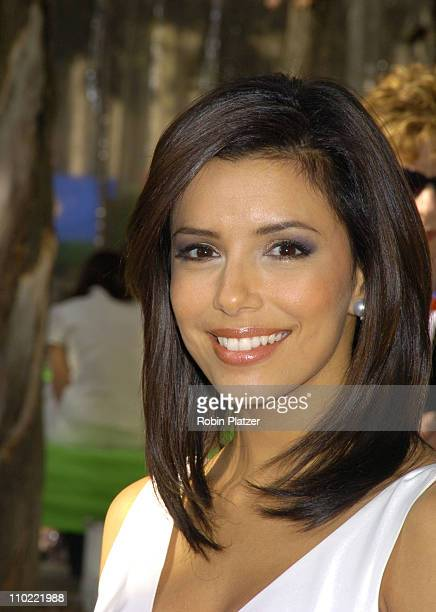 Eva Longoria of 'Desperate Housewives' during 2005/2006 ABC UpFront at Lincoln Center in New York City New York United States