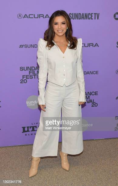 "Eva Longoria of ""Sylvie's Love"" attends the 2020 Sundance Film Festival - ""Sylvie's Love"" Premiere at Eccles Center Theatre on January 27, 2020 in..."