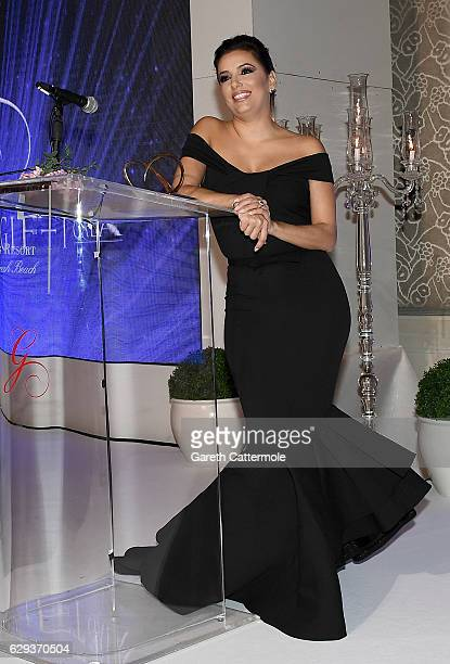 Eva Longoria on stage during the Global Gift Gala on day six of the 13th annual Dubai International Film Festival held at the Four Seasons Hotel on...
