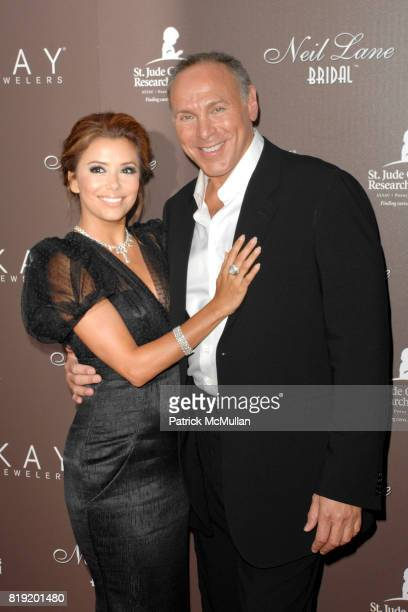 Eva Longoria Parker and Neil Lane attend Neil Lane Debuts New Bridal Collection with Kay Jewelers at Drai's Hollywood on July 22 2010 in Hollywood CA
