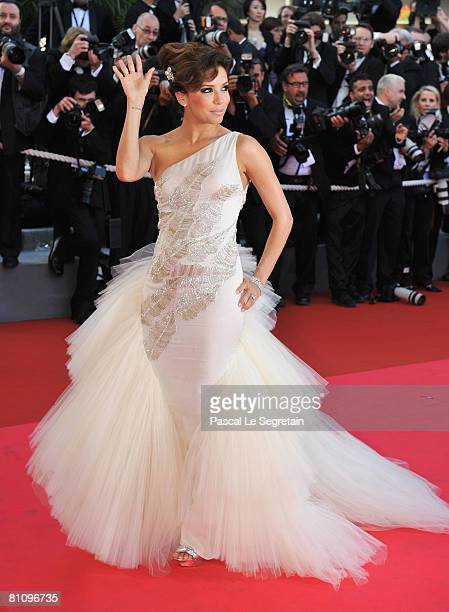 Eva Longoria Parker arrives at the Kung Fu Panda Premiere at Palais des Festivals during the 61st International Cannes Film Festival on May 15 2008...