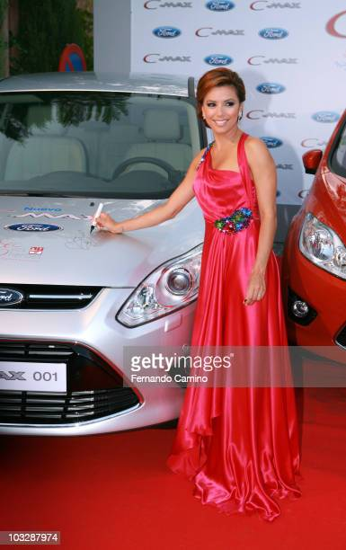Eva Longoria Parker attends Starlite Gala on August 7 2010 in Benahavis Spain