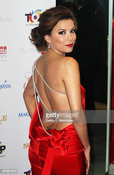 Eva Longoria Parker attends the Noble Gift Gala at The Dorchester on March 13 2010 in London England