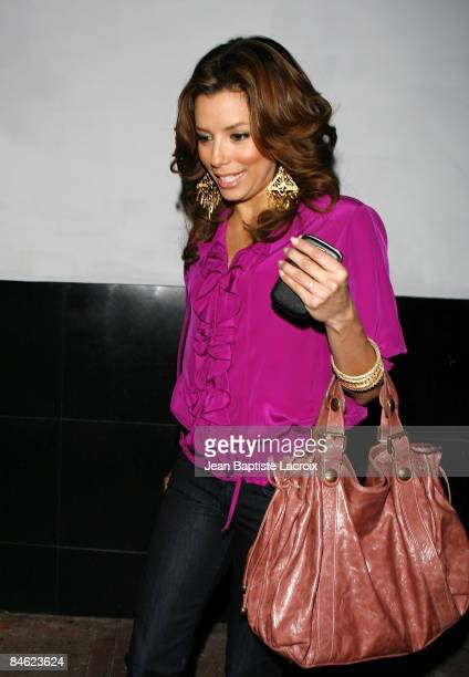 Eva Longoria Parker sighting on February 3 2009 in Hollywood California