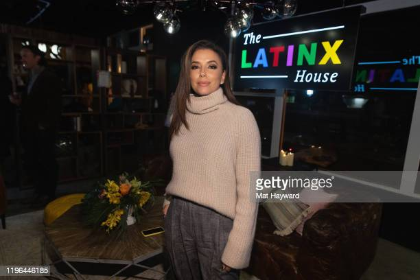 """Eva Longoria poses for a photo during the official after party for """"Siempre, Luis"""" at The Latinx House on January 25, 2020 in Park City, Utah."""