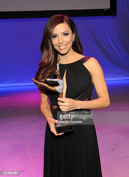 Eva Longoria recieves Nevada Ballet Theatre's 28th Annual Woman Of The Year award at Aria in CityCenter on January 28 2012 in Las Vegas Nevada