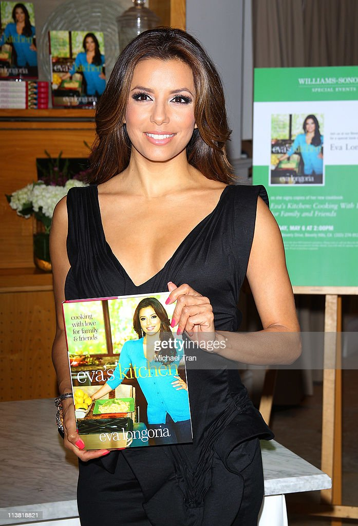 Eva Longoria Signs Copies Of Her New Cookbook