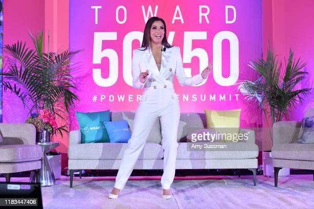Eva Longoria speaks onstage during TheWrap's Power Women Summit at Fairmont Miramar Hotel on October 24, 2019 in Santa Monica, California.