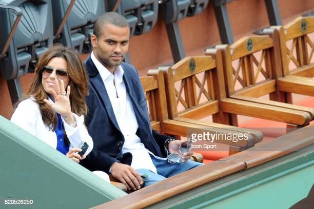 Eva LONGORIA / Tony PARKER Finale Simple Roger FEDERER / Robin SODERLING Roland Garros 2009 Paris