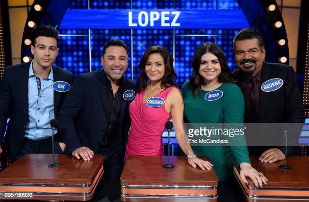 FEUD Eva Longoria vs George Lopez and Yvette Nicole Brown vs Ashley Graham The celebrity teams competing to win cash for their charities features...