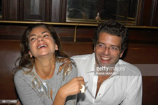 Eva Lorenzotti and Lorenzo Lorenzotti attend A Private Screening of FOX 2000 PICTURES New Release In Her Shoes at La Goulue on October 2 2005 in New...