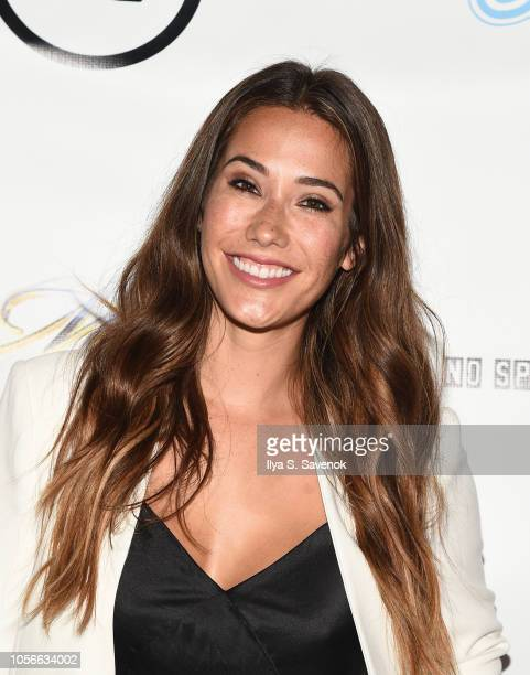 Eva Lovia attends Dinner With Dani Launch Party at The Mezzanine on November 2, 2018 in New York City.