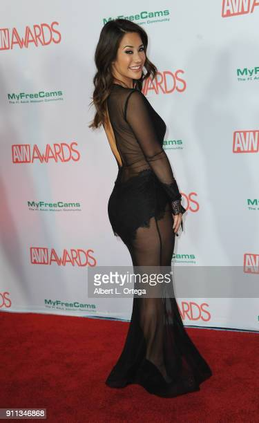 Eva Lovia attends the 2018 Adult Video News Awards held at Hard Rock Hotel & Casino on January 27, 2018 in Las Vegas, Nevada.